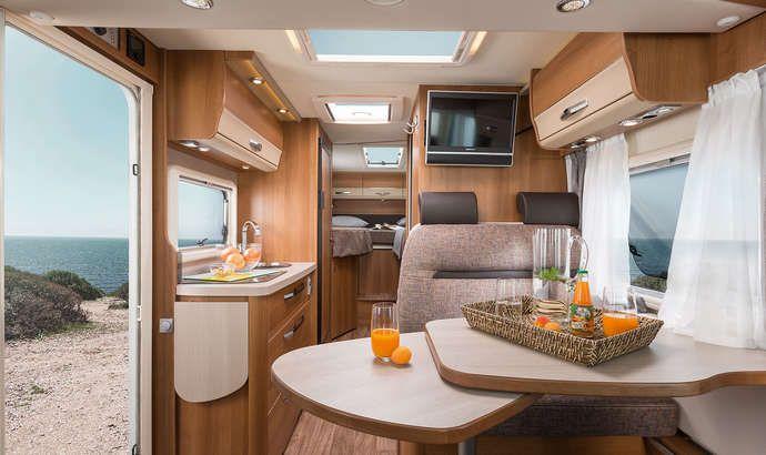 VAN I 650 MEG Interieur Wohnbereich Wohnmobil Pinterest - badezimmerspiegel mit led