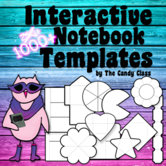 Interactive Notebook Templates 1000+ SAMPLE & PREVEIW