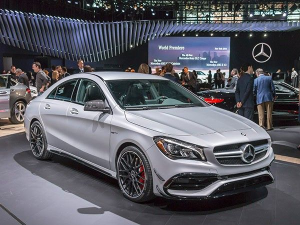 2017 Mercedes Benz Cla Class Amg Cl45 Revealed With Images