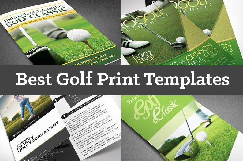 Best Golf Print Templates Print Templates Golf Prints Event Brochure