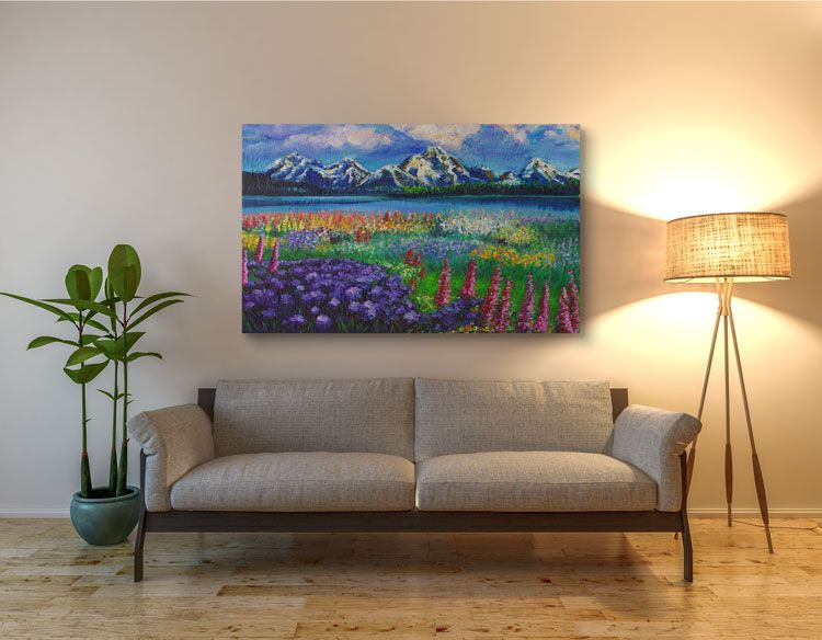 Amazing Wall Art For Your Home Free Shipping Straight To Your Door Hand Painted Wall Art Hand Painted Walls Wall Painting