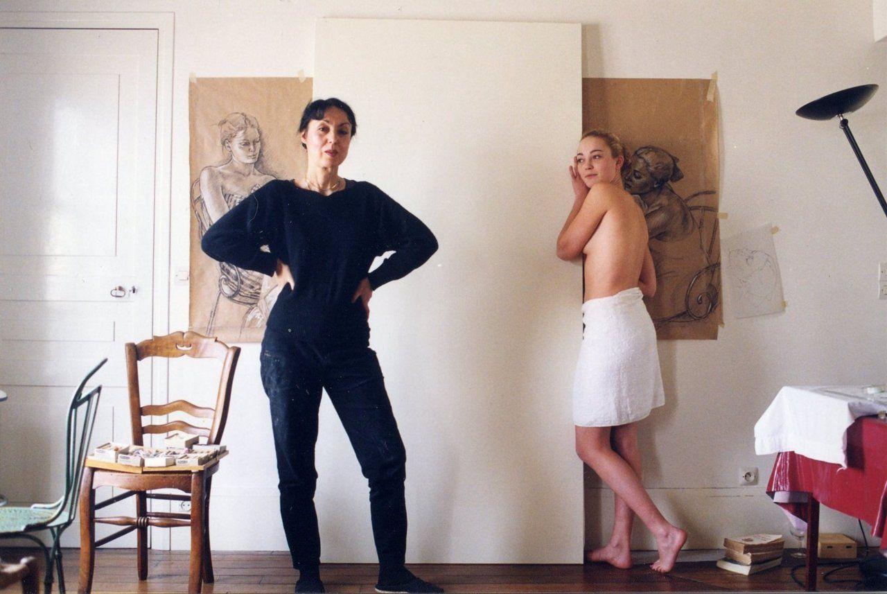 Francine Van Hove In Her Studio Estudios De Artistas El Eterno Femenino Artistas