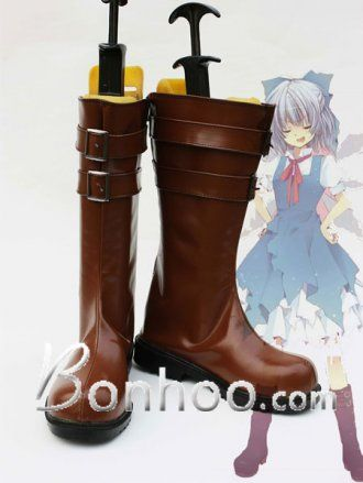 TouHou Project Cirno Cosplay boots