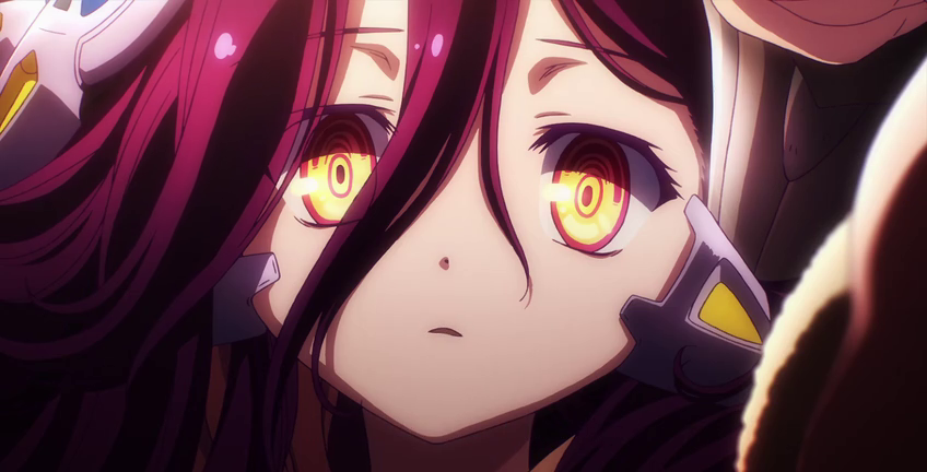 No Game No Life Zero Subtitle Indonesia Аниме арт