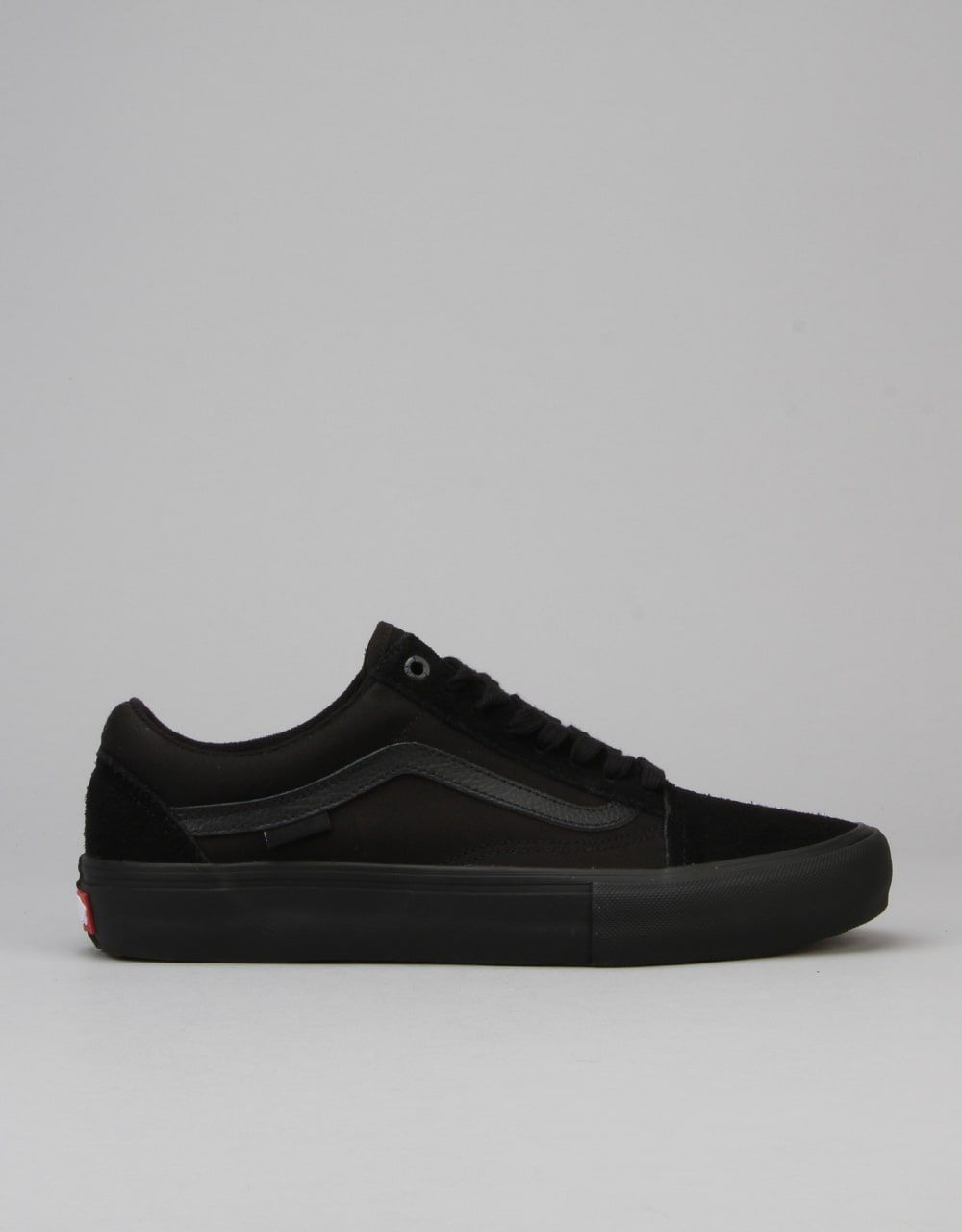 c997f613e880eb Buy Vans Old Skool Pro Skate Shoes - Blackout from Route One  Another  blacked out