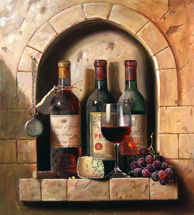 картинки для декупажа бутылки для вина что моя
