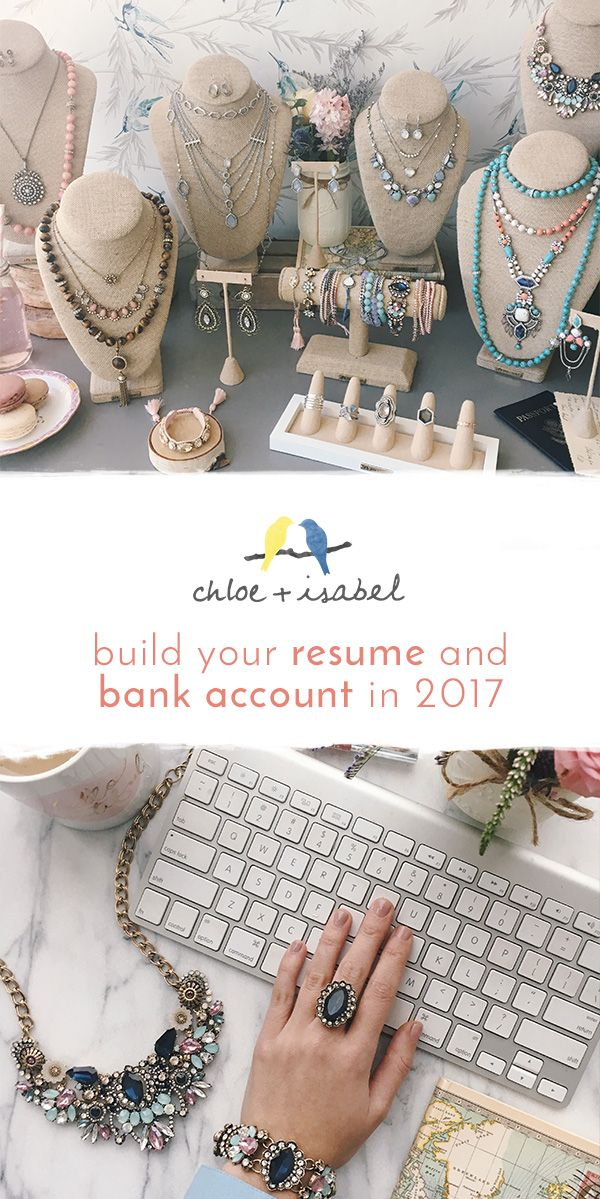 Jewelry Sales Resume Awesome Start Running Your Own #chloeandisabel Jewelry Business Through Our .