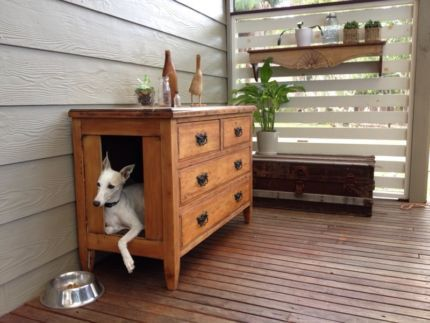 gumtree Dog house, Repurposed