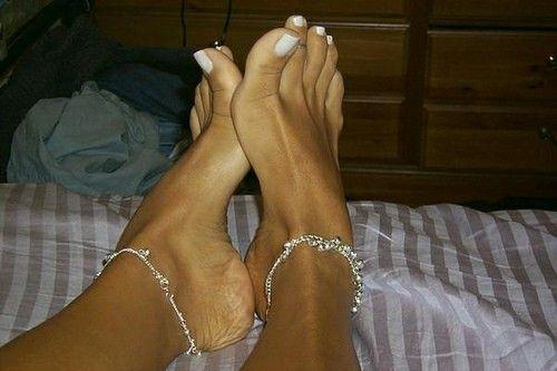 cosas entre los dedos de los pies