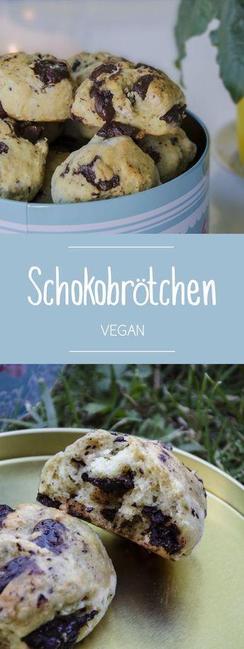 Vegane Schokobrötchen - einfach lecker, wie vom Bäcker