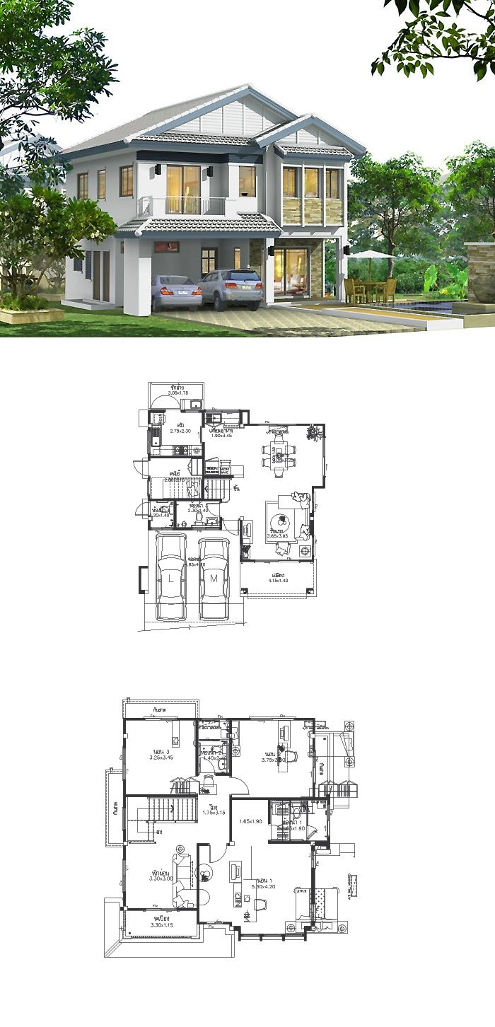 Modern 2 story home twostoreyhomeplans