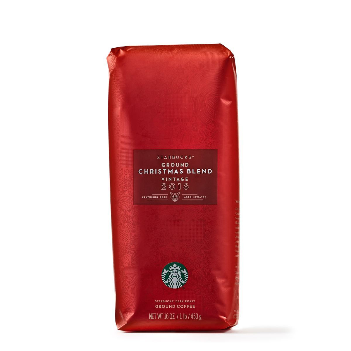 starbucks christmas blend coffee coarse ground