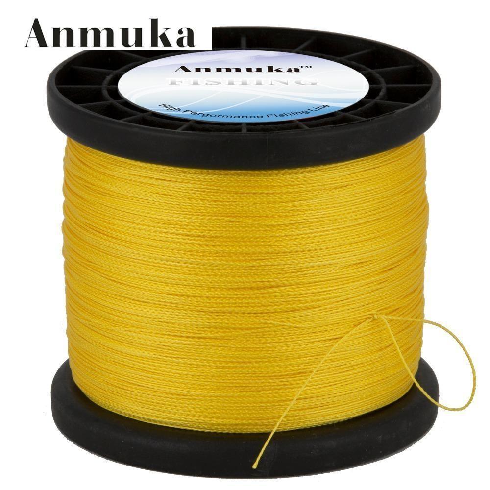 Anmuka Brand 1000 Meter Multifilament Pe Braided Fishing Line Carp Super
