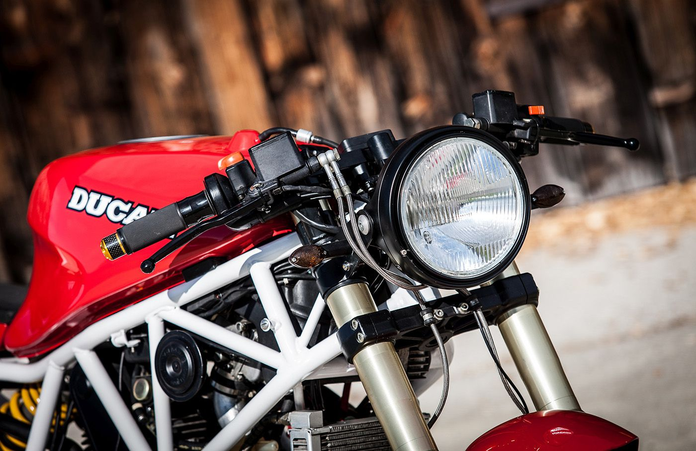 Polas Duc 750ss 4 Ducati Cafe Racer Bike Shed Bike
