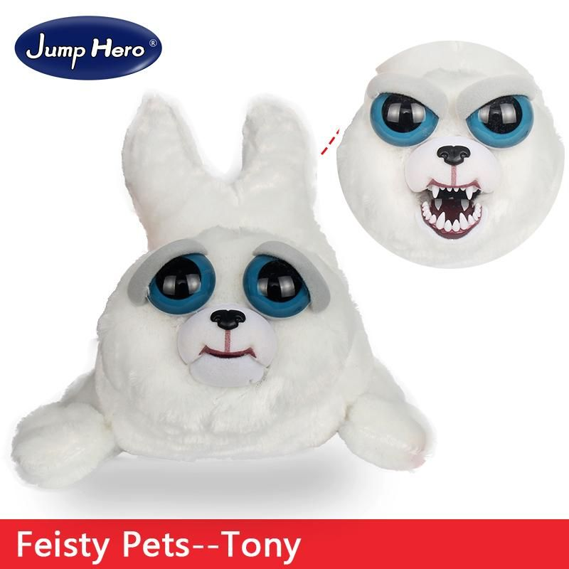 Feisty Pets Plush Dolls Toys Change Face Facebook Hot Sales Funny Animal Expression Stuffed For Kids Cute Prank Gift S Baby Plush Toys Cartoon Toys Plush Dolls