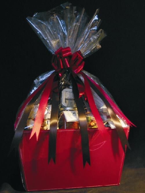 Beautifully wrapped executive wine and gourmet food gift basket beautifully wrapped executive wine and gourmet food gift basket from the okanagan valley negle Images
