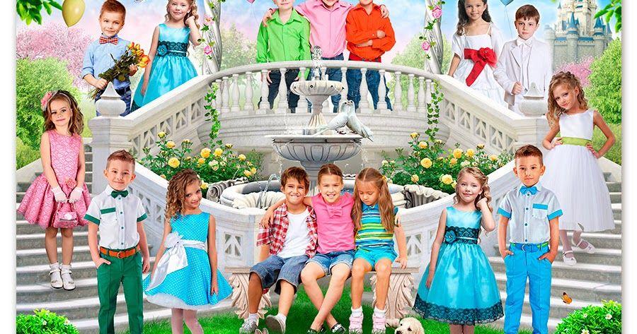 групповое фото, виньетка для группы, групповая виньетка ...
