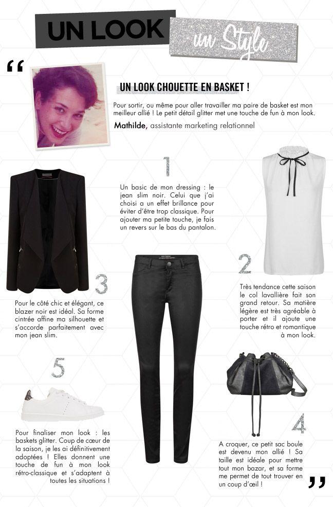 Un look, un style #94. Un look chouette en basket ! | Blog mode femme, tendance mode – NAF NAF | Blog officiel