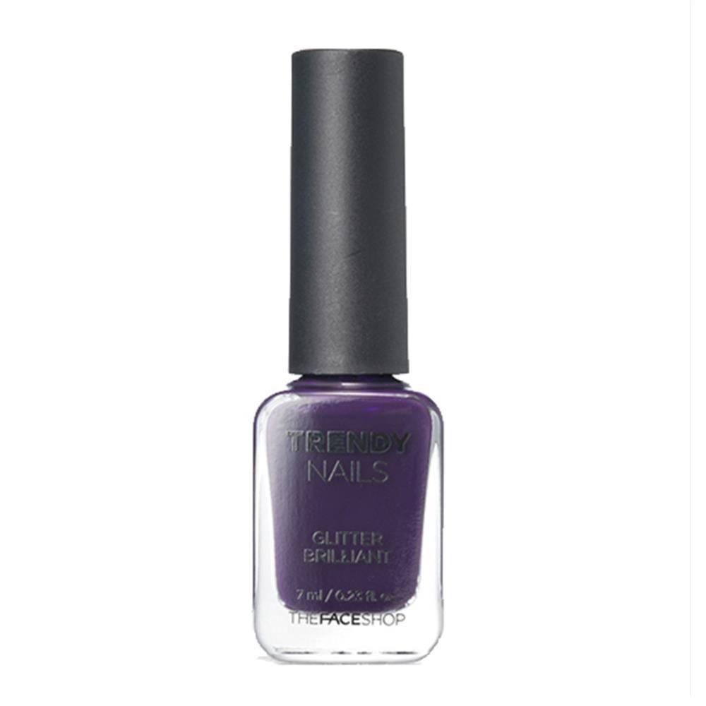 The face shop] Trendy Nails PP409 Worried Purple 7ml   Pedicure ...
