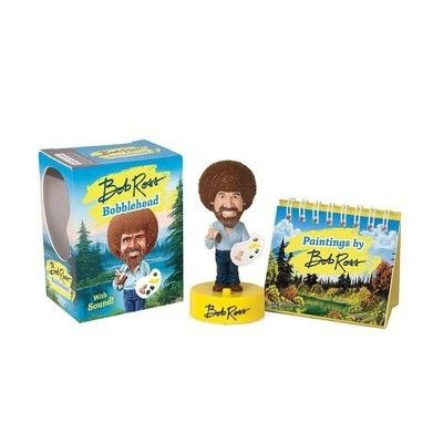 Bob Ross Bobblehead With Sound Toy Bob books