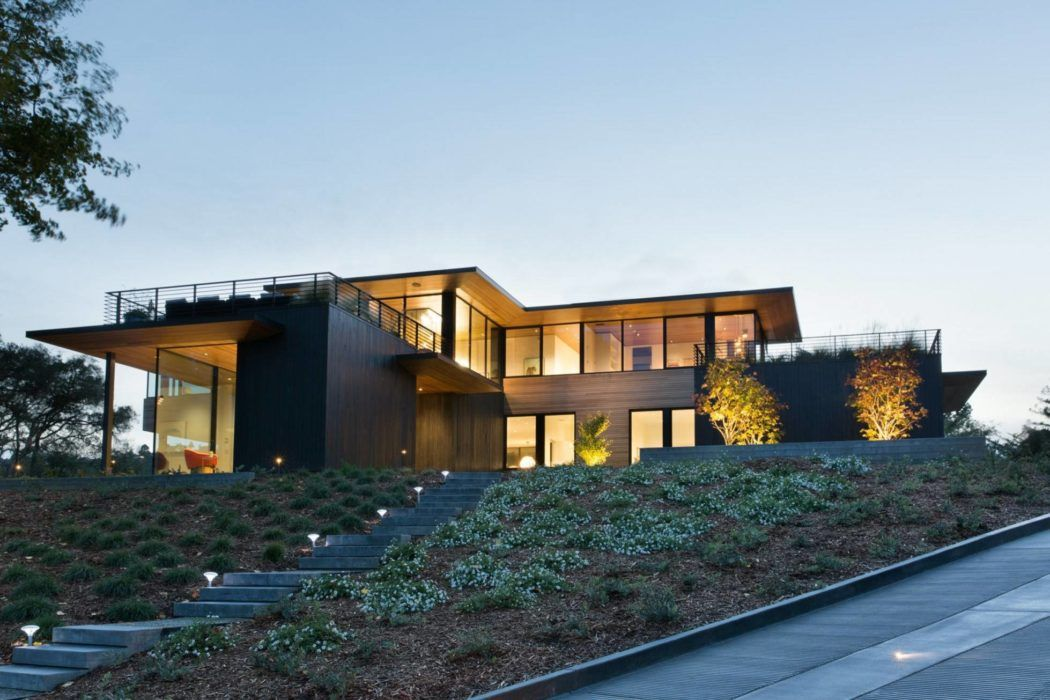 House in mill valley by michael rex architects dream