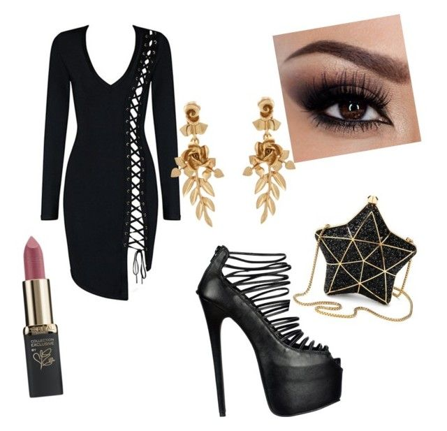 """Untitled #25"" by imsirovicsanela ❤ liked on Polyvore featuring Aspinal of London, Oscar de la Renta and L'Oréal Paris"