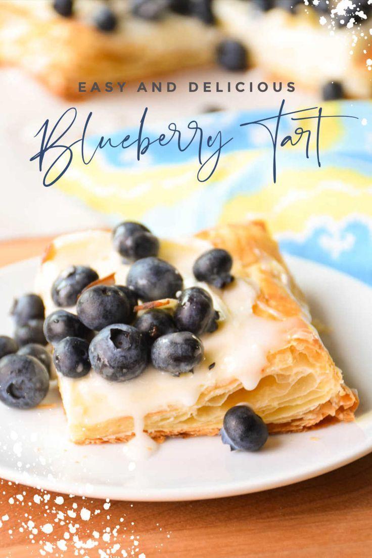 Blueberry Tart | Liv for Cake