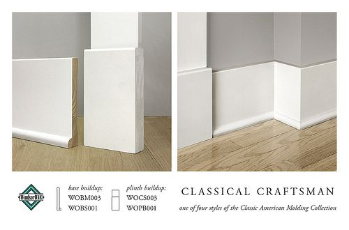 Classical Craftsman Base Molding Baseboard Styles Moldings And Trim Baseboard Trim