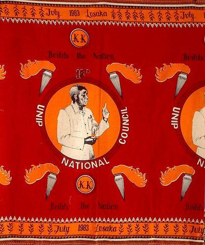 Kaunda 1983 Zambian wax in 2019 | African Commemorative Cloth