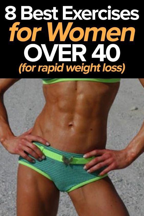 8 Best Exercises for Weight Loss in Women Over 40