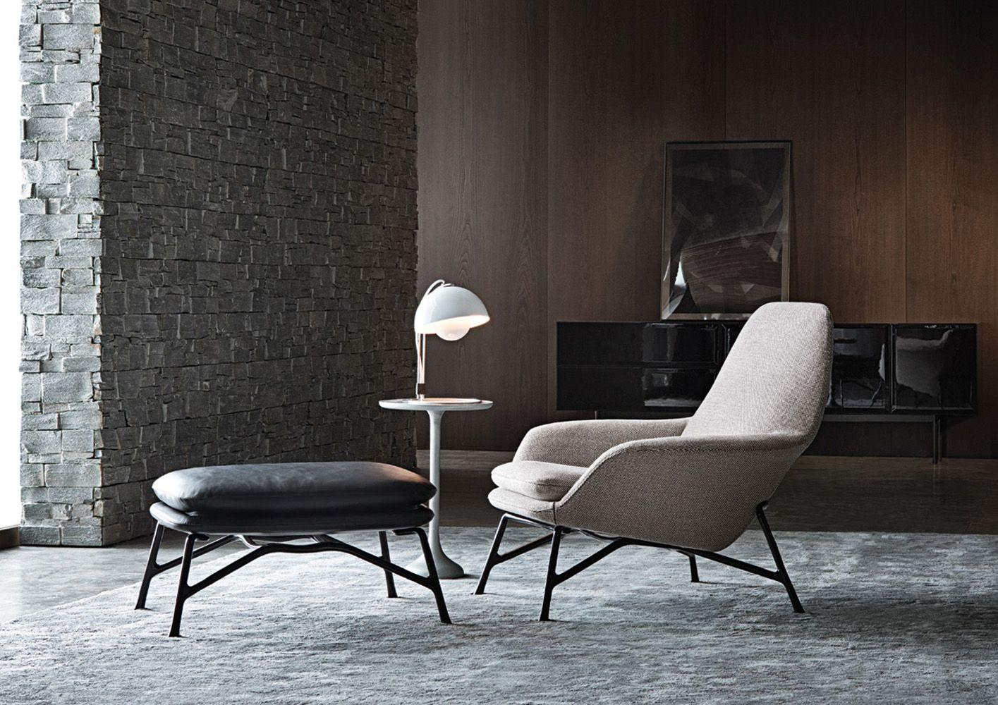 Minotti prince chaise longue mobili mobili di lusso e for Mobili di lusso moderni