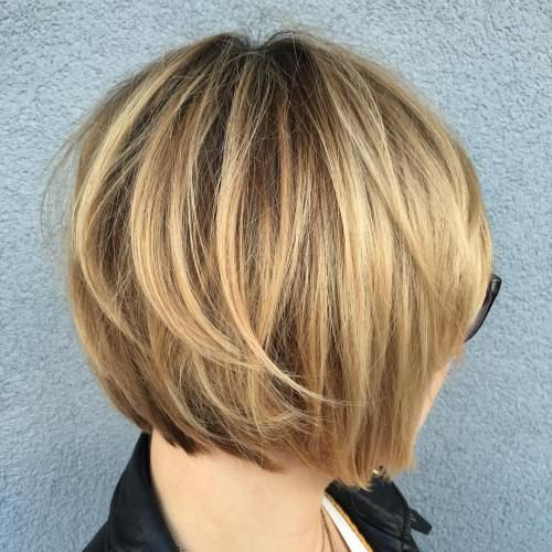 layered bob haircuts for hair 60 layered bob styles modern haircuts with layers for any 2386