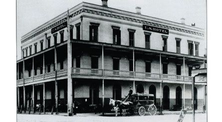 History Of Marysville Ca Old Buildings Gold Rush In Historic Downtown California