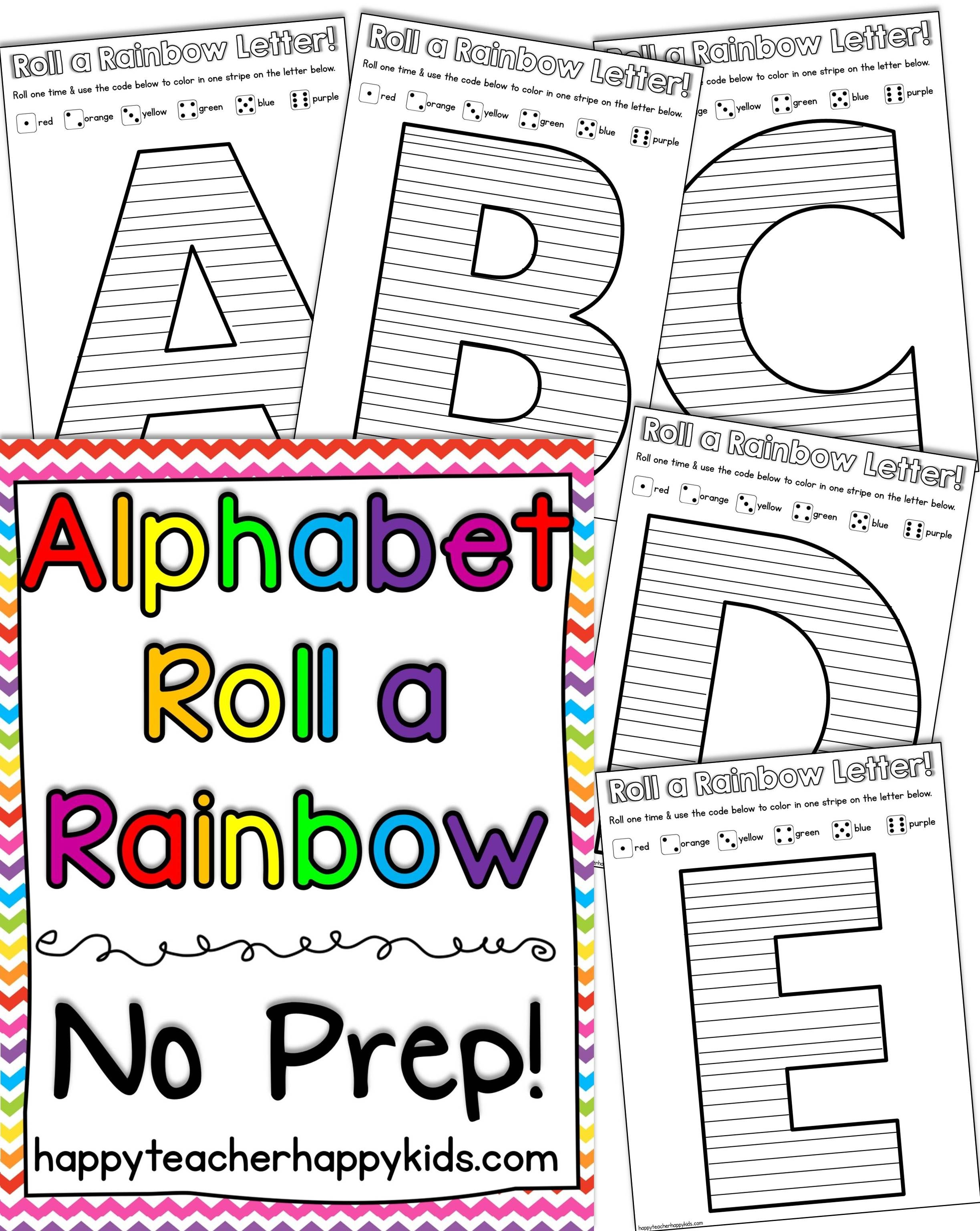 Alphabet All Star Printable Games
