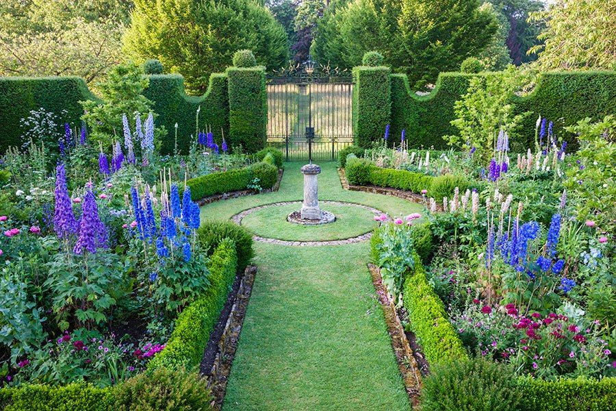 Explore the lush gardens of England's famous Highgrove estate, the country home of His Royal Highness, Prince Charles