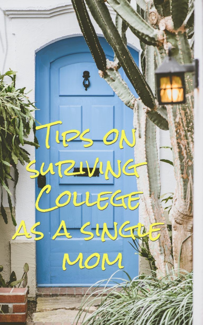 Tips on surviving college as a single mom! // follow us ...