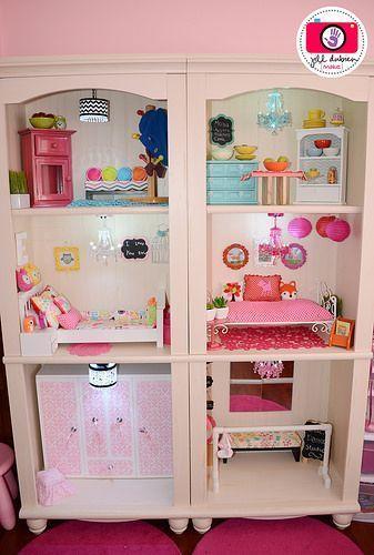 American Girl Dollhouse - Bedroom (Meet the Dubiens