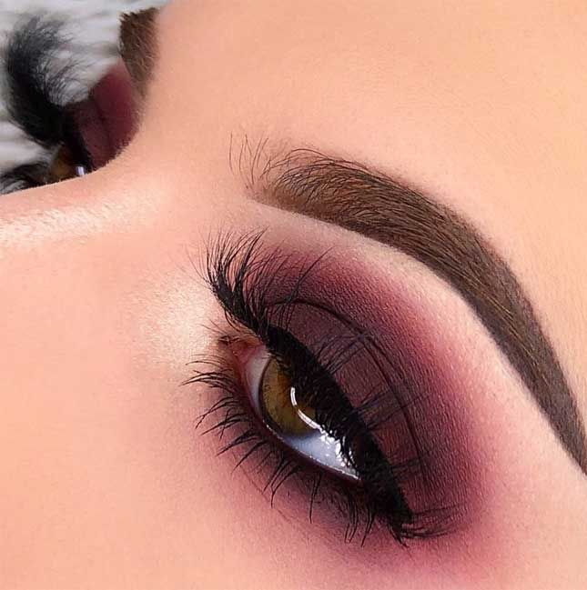 55 Stunning Makeup Ideas for Fall and Winter #fallmakeuplooks