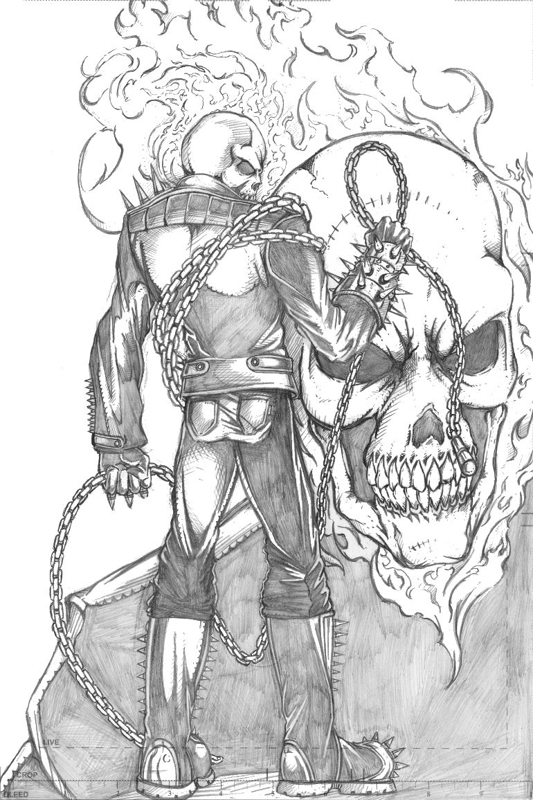 Ghost rider drawing ghost rider pencil sketch by thecarloszayas on deviantart drawing