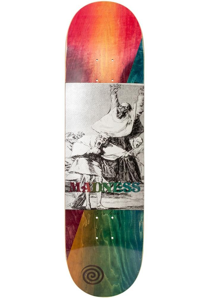 MADNESS It Is Time 8.375 R7 Skateboard Deck  7efcbc589d1