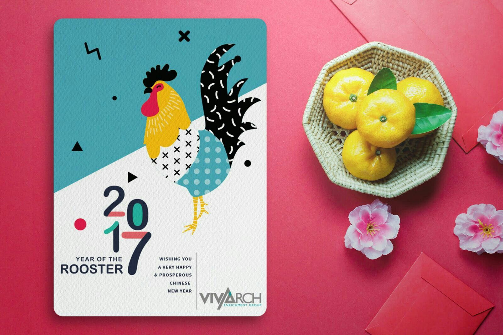 Chinese New Year Greetings For Vivarch Enrichment Group E Cards