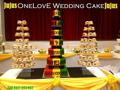 Rasta Themed Wedding Samoan Weddings Shared Jujus Kogakis S Photo