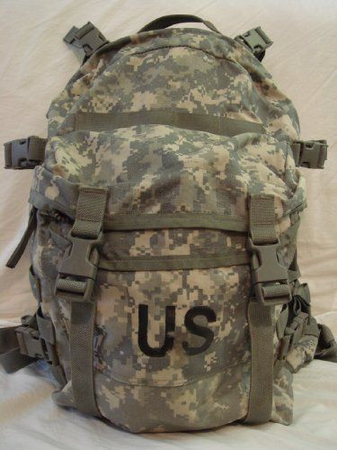 US Military Surplus ACU Large MOLLE Assault Pack BackPack | Hiking ...