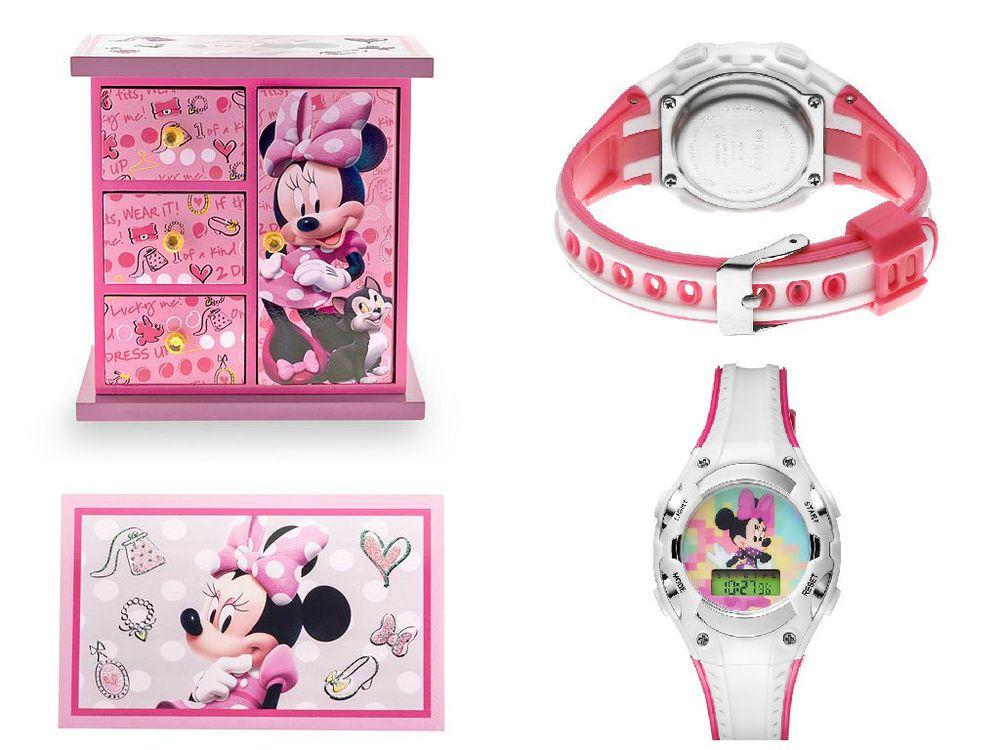 NEW Disney Minnie Mouse Jewelry Box Armoire Minnie Mouse Digital