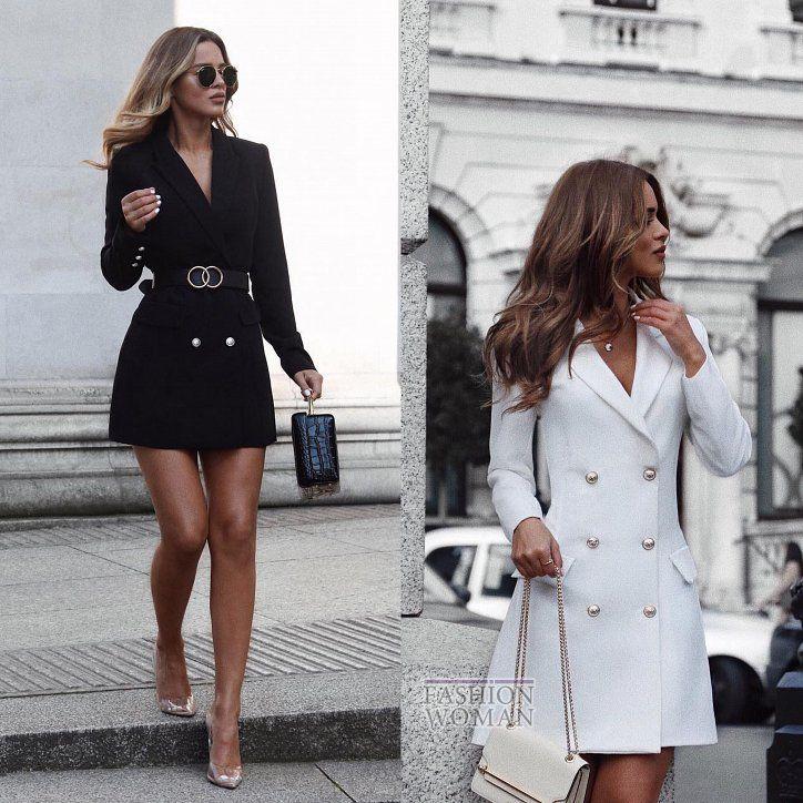 c71f4acebb6 Платье-пиджак - элегантный тренд осени Куртка Платье