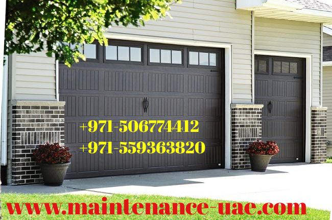 Garage Door Fixing Maintenance Uae Modern Openers Provide A