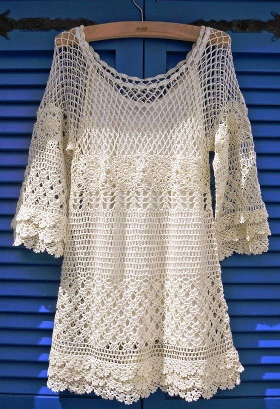 See more Chicwish Hand Knit Crochet Dress