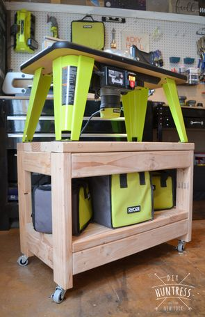 Ryobi nation rolling router table router table woodworking and ryobi nation rolling router table router table woodworking and woods greentooth Choice Image