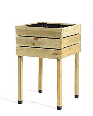 hochbeet aus holz aus kiefer von mygardenlust. Black Bedroom Furniture Sets. Home Design Ideas