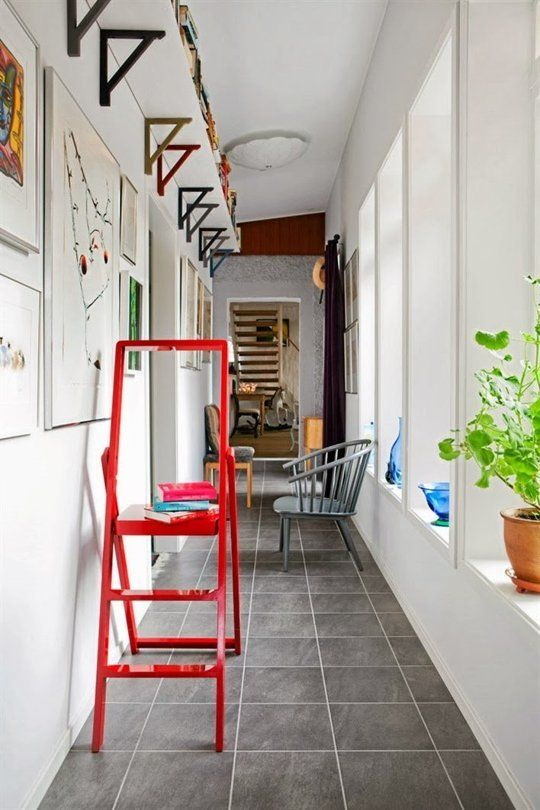 8 Sneaky Small Space Solutions Small Hallways Small Spaces